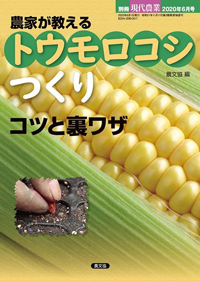 農家が教える トウモロコシつくり コツと裏ワザ(別冊現代農業)
